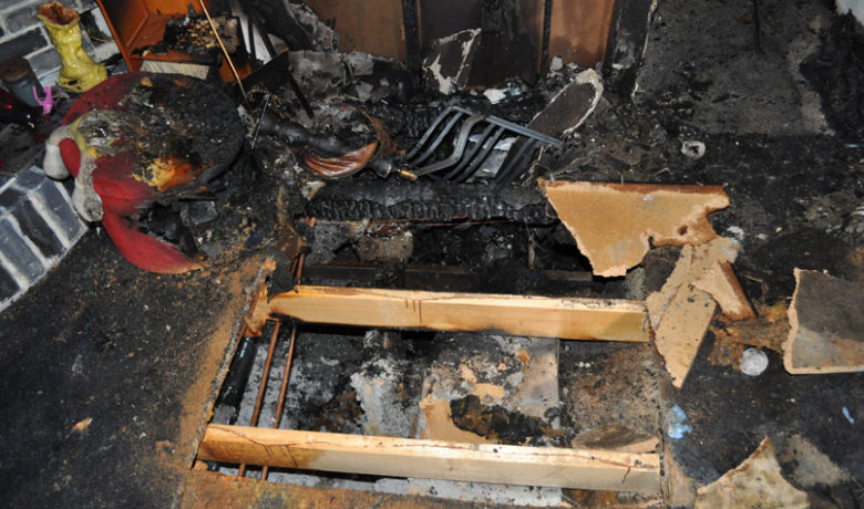 Rock Springs Home a total loss after Monday fire
