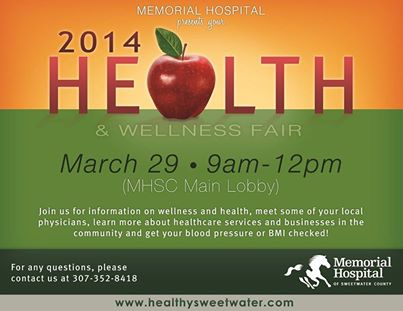 Memorial Hospital hosting annual Health Fair this weekend