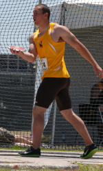 Thomas tops off Tom Benich with discus win; Junior's throw ranks 35th in the NCAA