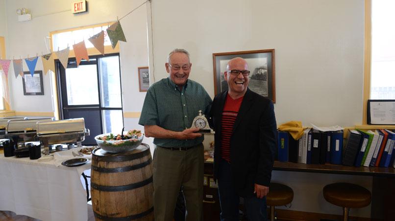 Rennard Jensen named URA Volunteer of the Year
