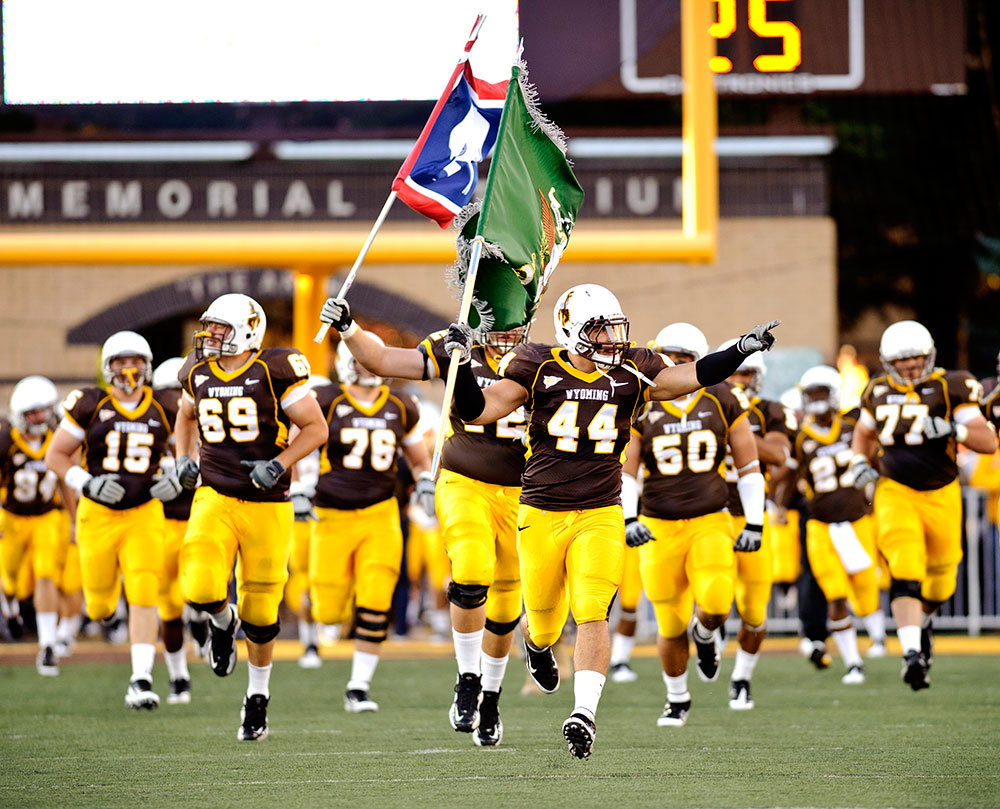 Win Wyoming Cowboys Season Tickets just by advertising with SweetwaterNOW!