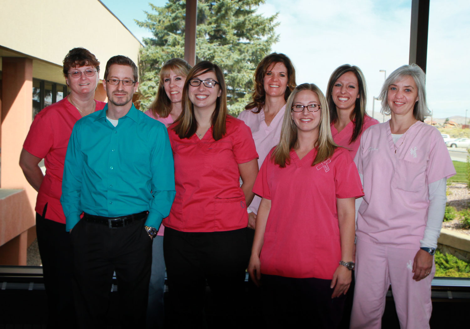 Memorial Hospital honors Breast Cancer Awareness month with a PINK photo contest and raffle for mammography patients