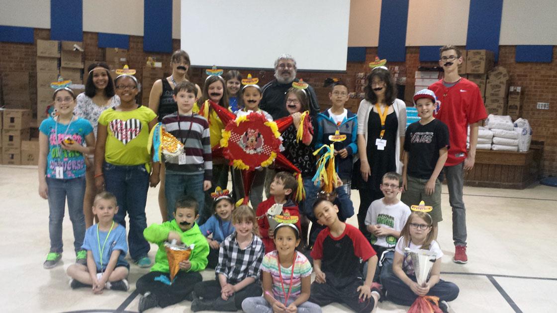 WWCC Spanish Club helps Boys and Girls Club Celebrate Cinco de Mayo