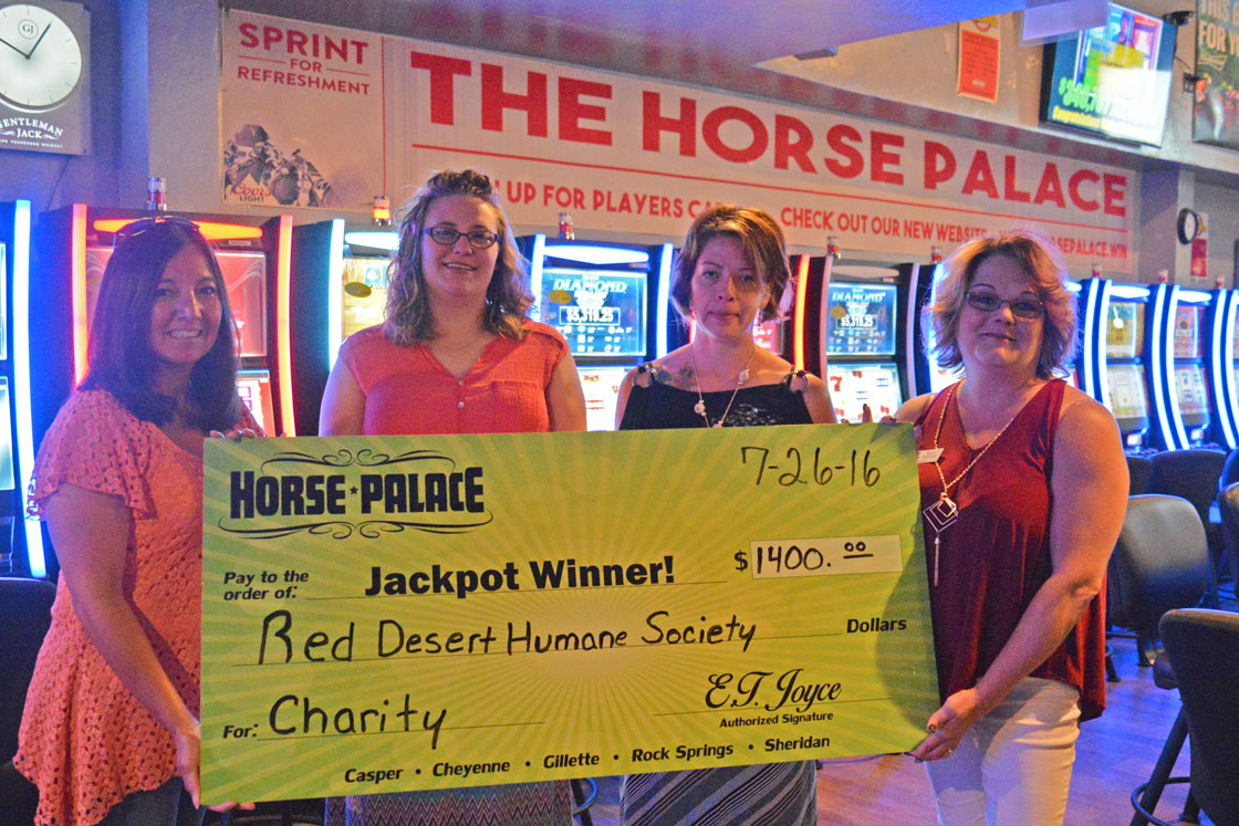 Rock Springs Horse Palace Donates to Red Desert Humane Society