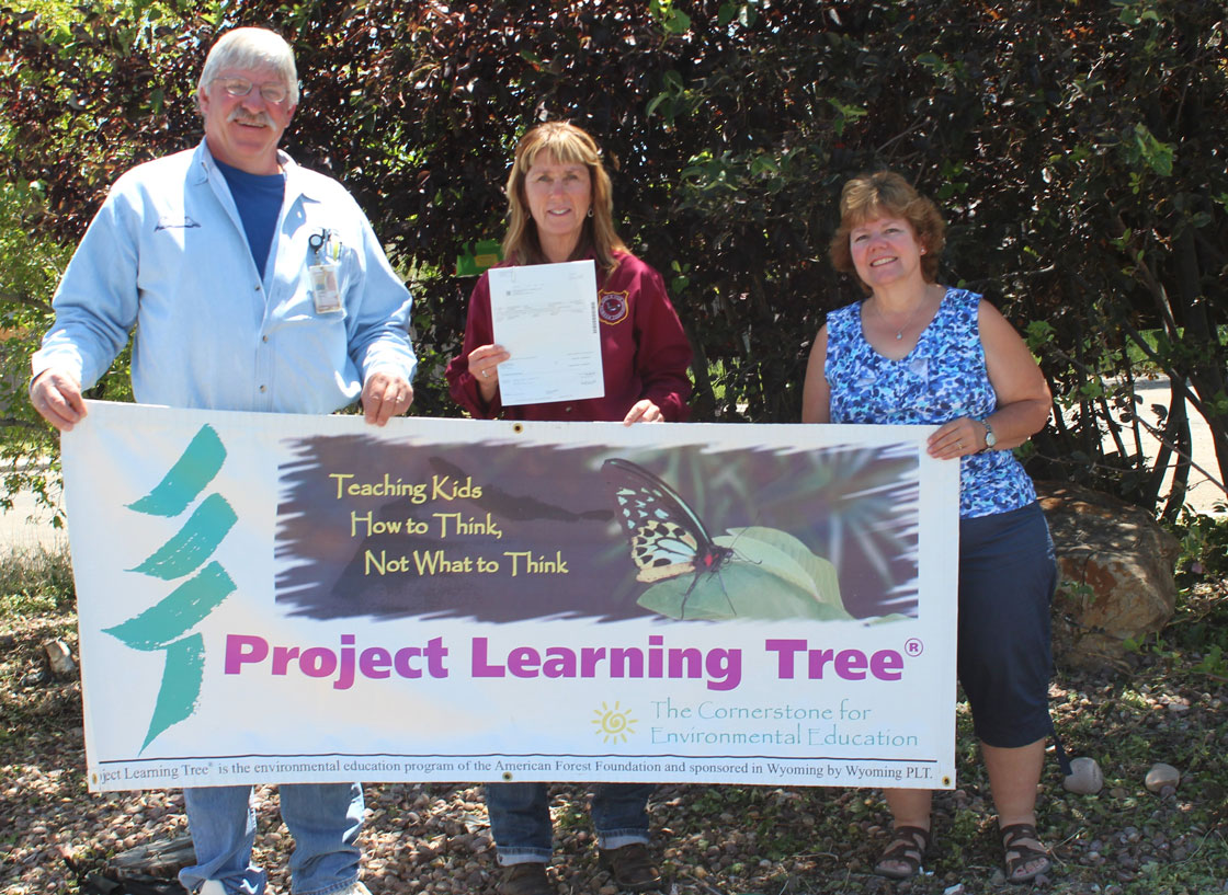 ExxonMobil Donates to Wyoming Project Learning Tree