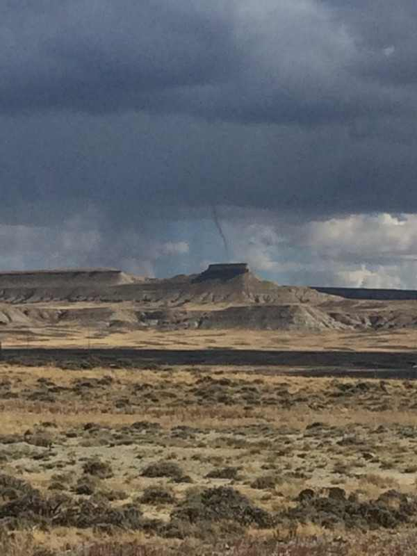 Funnel Cloud Photographed Near Table Rock on Saturday