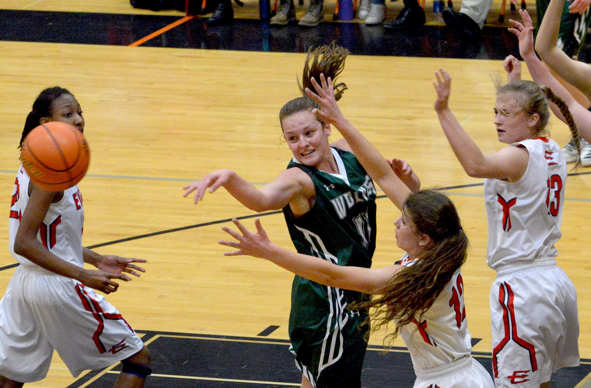 Big Evanston Second Half Ends Lady Wolves Season