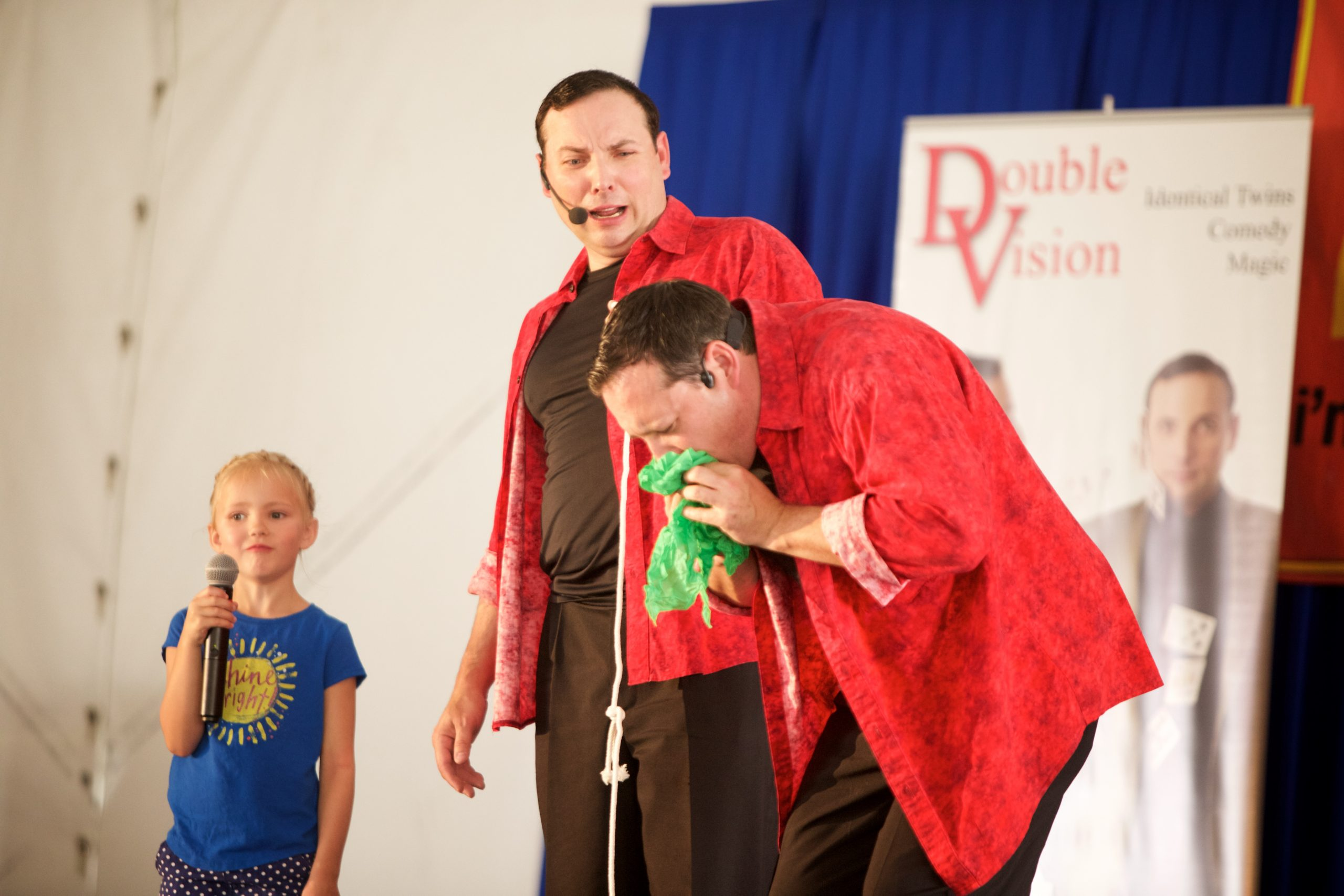 'Double Vision' is Magic & Comedy Show