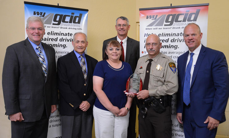 Governor Awards Sweetwater County Sheriff's Office for Sobriety Program