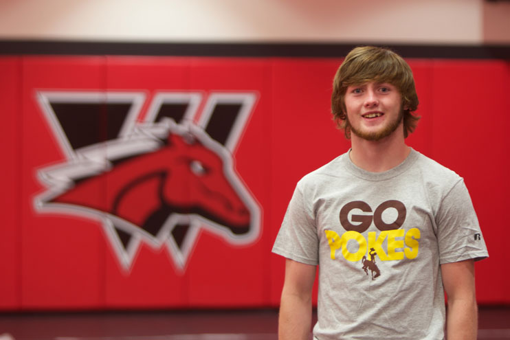 WWCC Star Wrestler Signs with Pokes