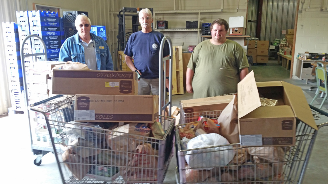 Labor Day Food Drive Benefits Food Bank/United Way Diaper Fund