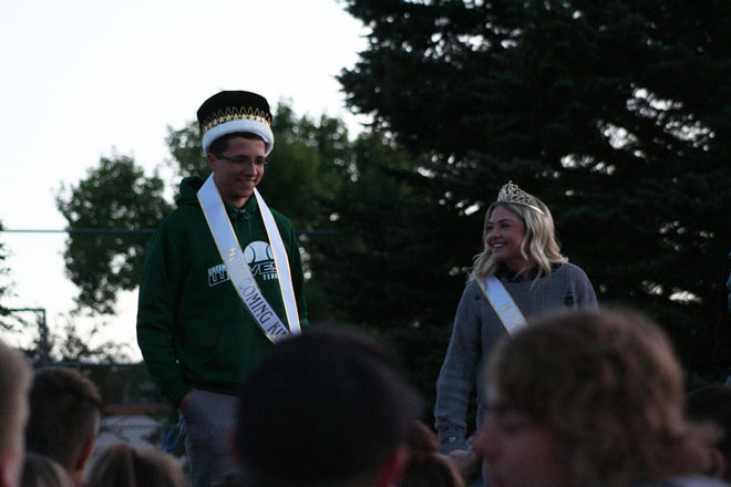 GRHS Homecoming Royalty Announced, Fall Sports Rally at Wolves Jam