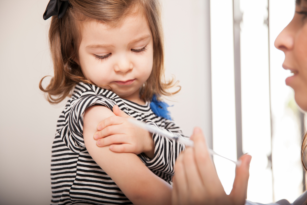 Children Receive Discounted or Free Immunizations at Community Nursing