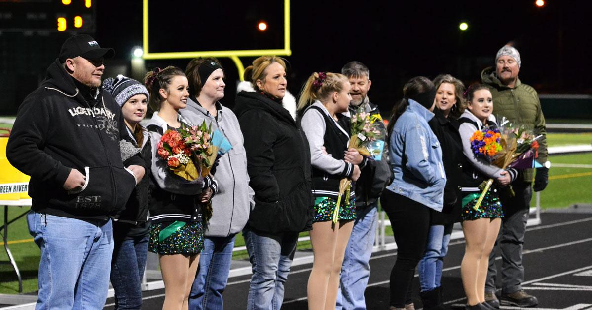 GRHS Dance Team's Seniors Recognized
