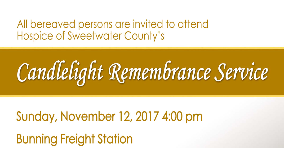 Hospice of Sweetwater County Hosts Candlelight Remembrance Service