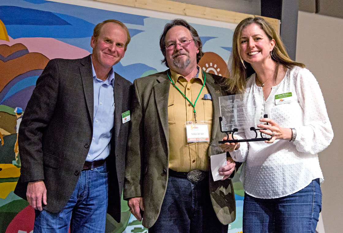 Trona Miner Mike Burd Honored for Wyoming Range Conservation Work