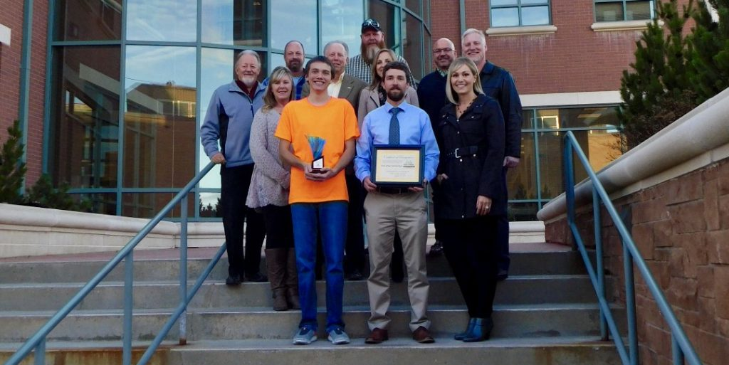 RSNB Wins Pride of Place Award From Rock Springs Beautification Committee