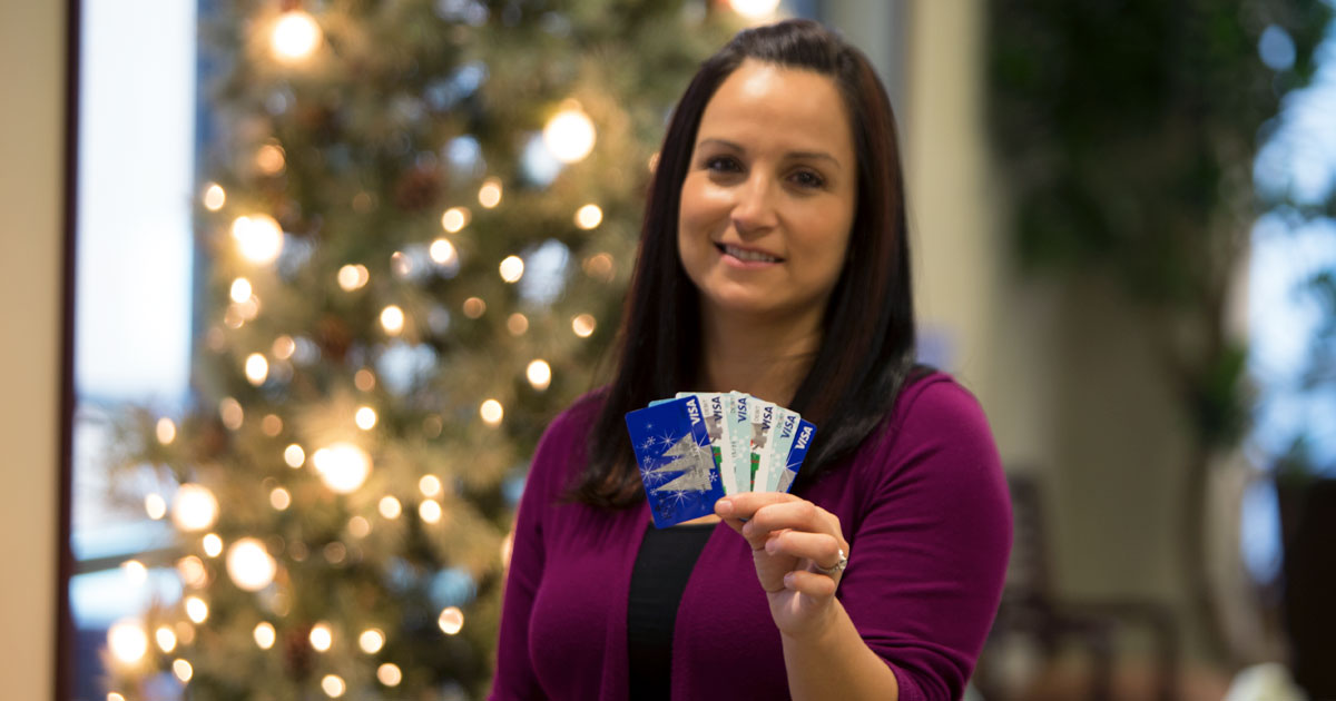 [Christmas Countdown] VISA Gift Cards from RSNB Bank Make Great Stocking Stuffers!