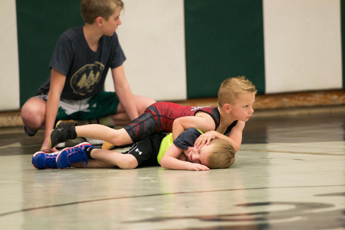 GRHS Wrestling Program Hosts Camp for Junior Wrestlers