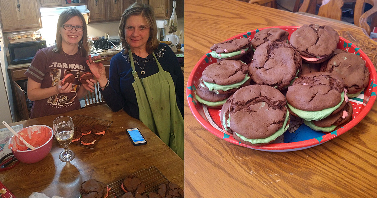 Christmas Cookie Contest – Chocolate Sandwich Cookies