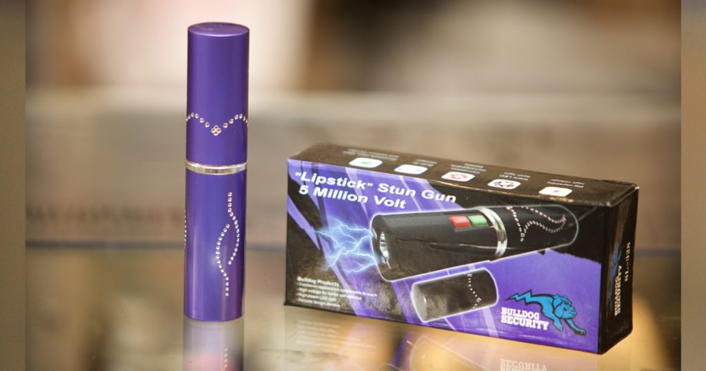 Give the Gift of Protection with Lipstick Stun Guns at Elk Bomb