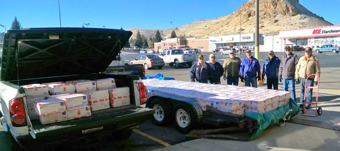 VFW Post 2321 Mails Packages To Overseas Soldiers
