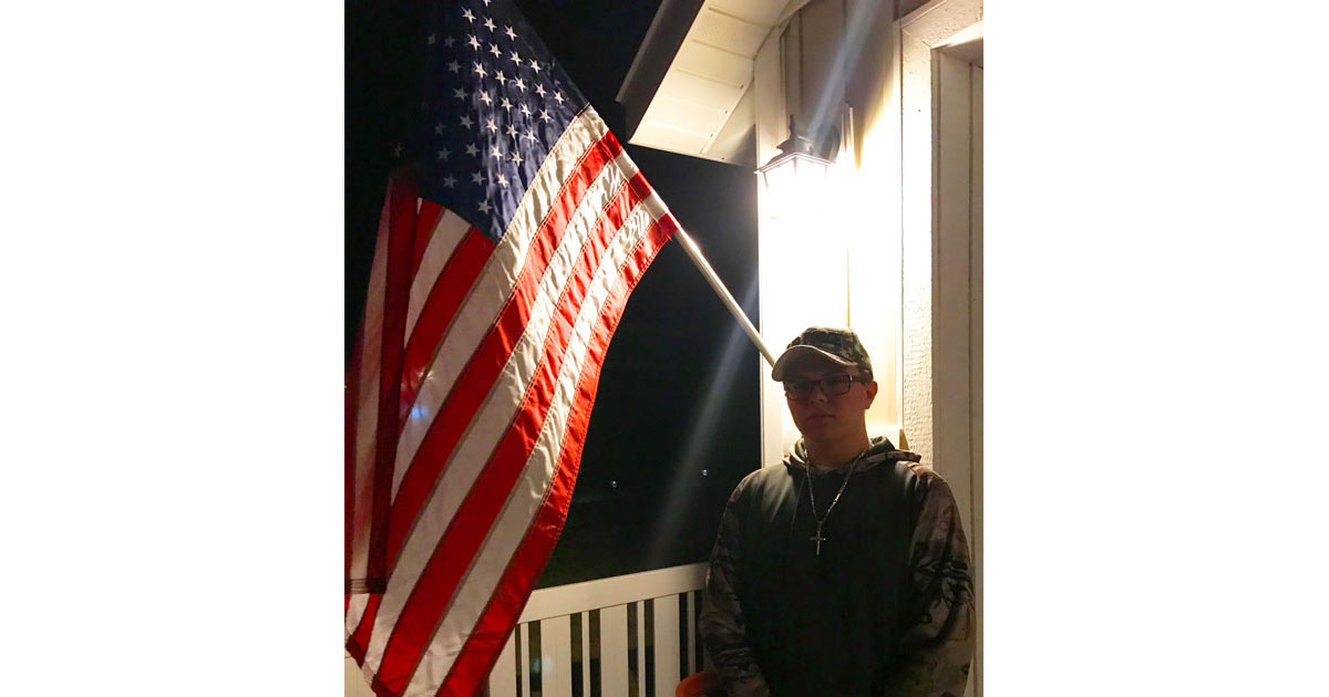 RSHS Student Raises Awareness for Suicide Among Veterans