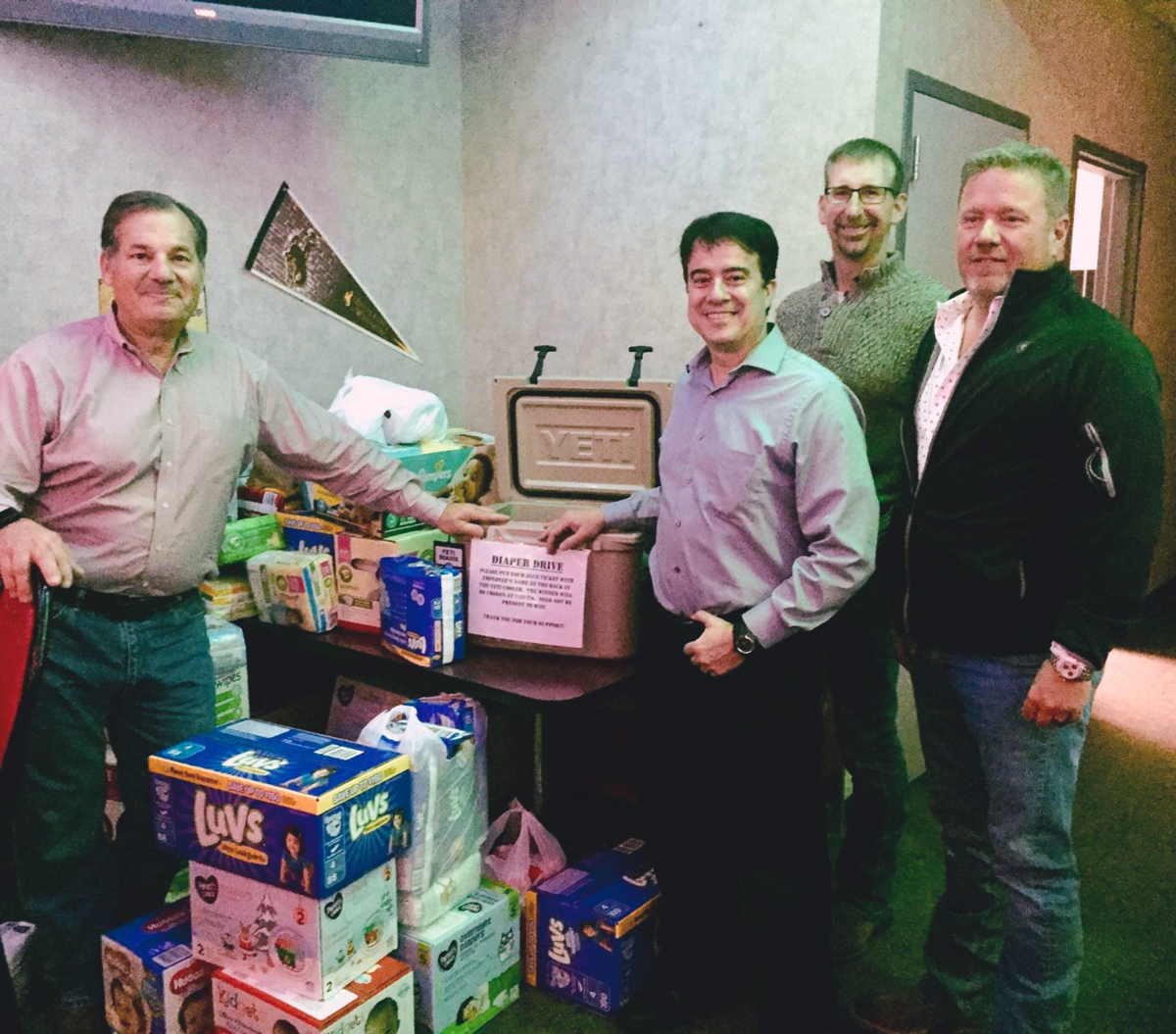 Record Setting: Diapers Distributed In Southwest Wyoming