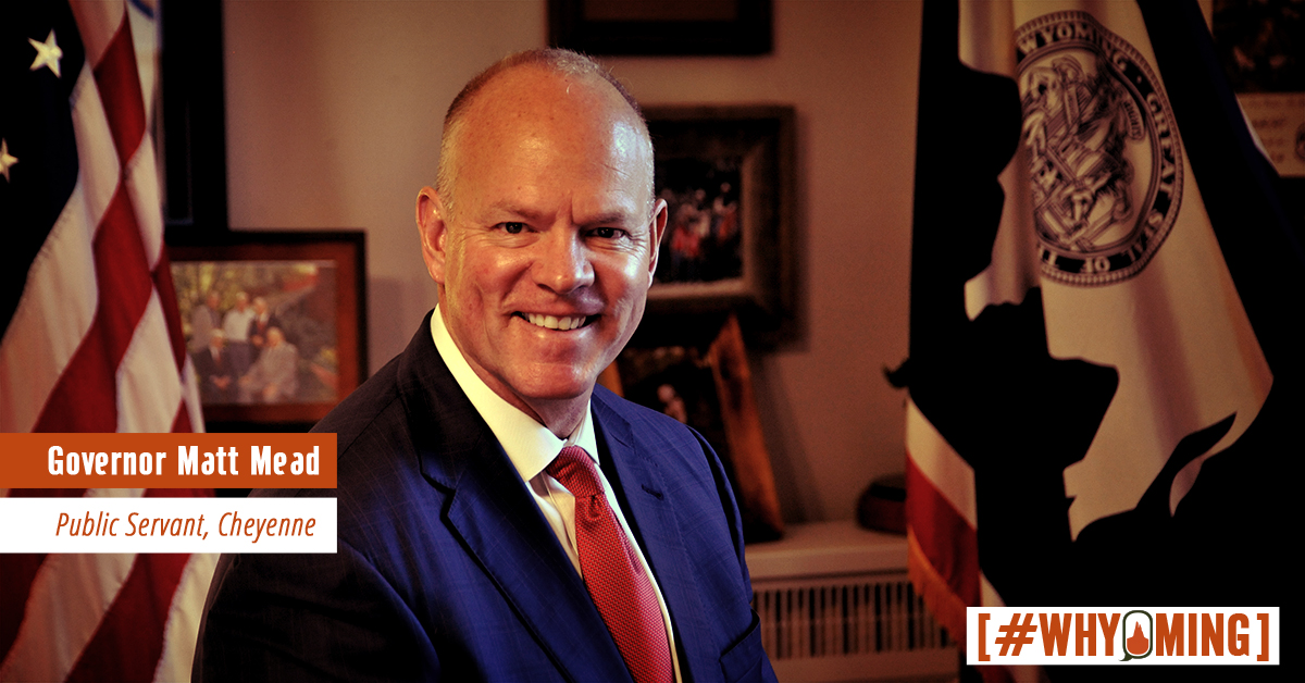 #WHYoming: Governor Matt Mead