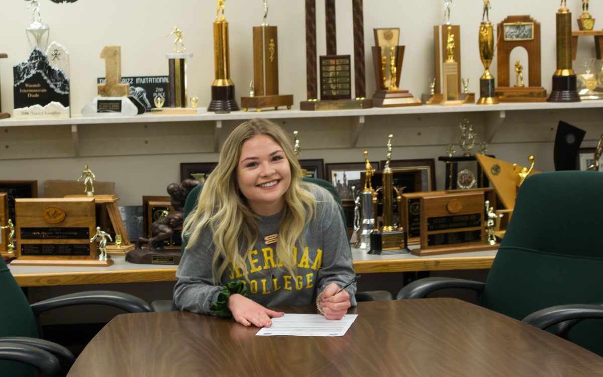 GRHS Soccer Player Signs with Sheridan College