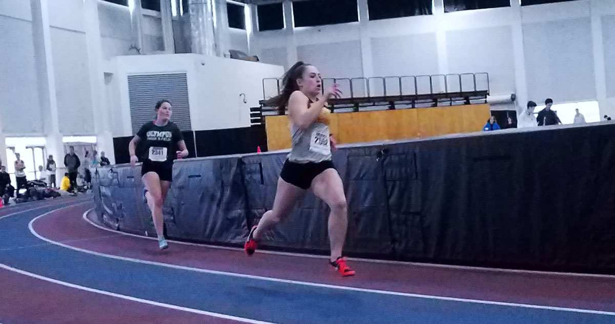 RSHS Indoor Track Competes at Utah Olympic Ice Oval Meet