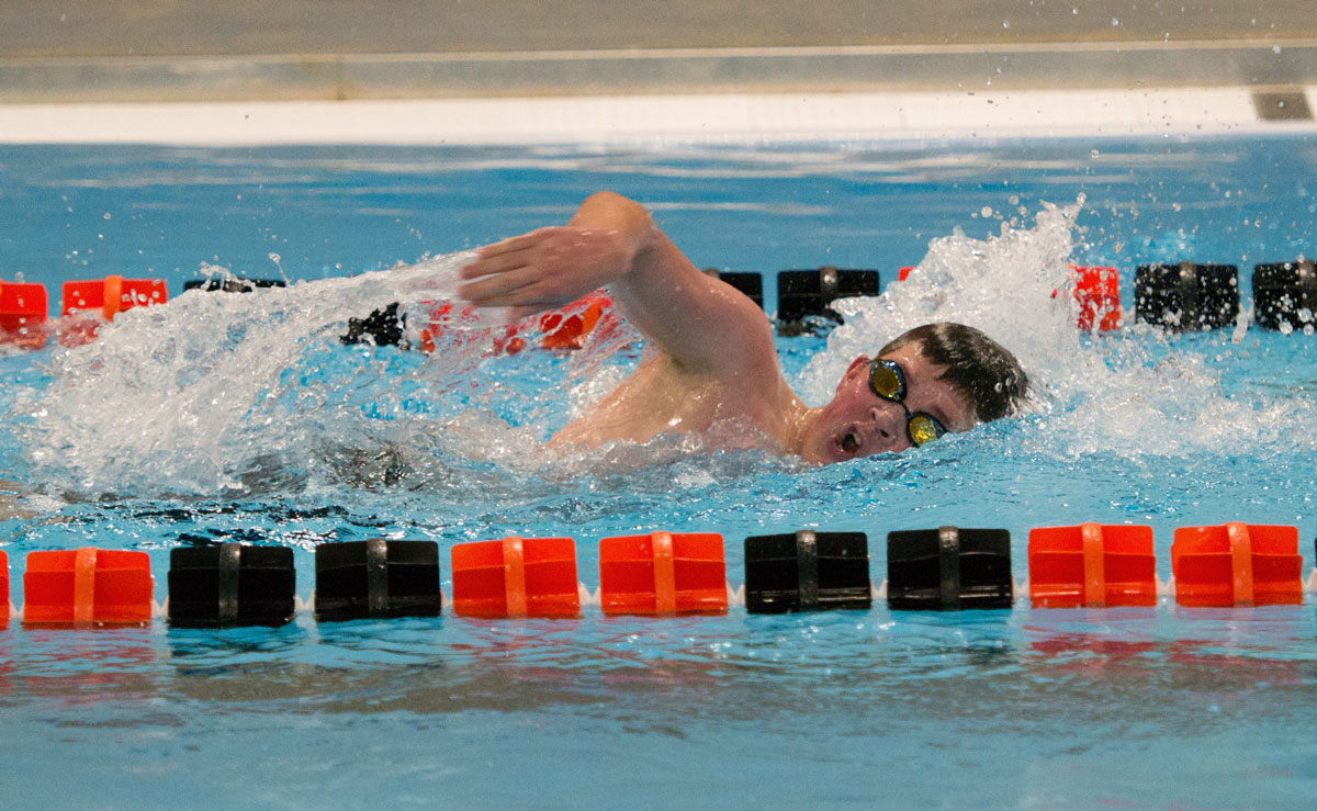 RSHS Swim and Dive Competes in Gillette
