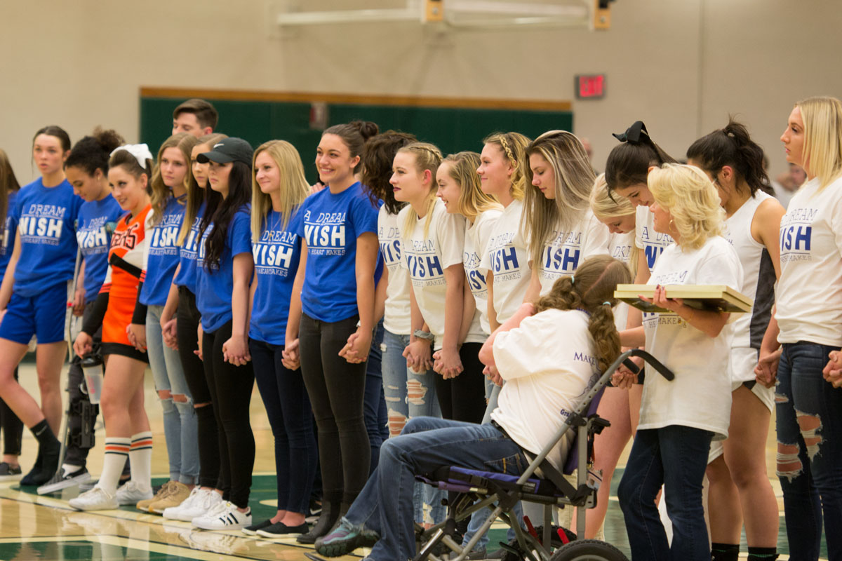GRHS Wins Make-A-Wish Competition, Communities Raise over $56 Thousand Together