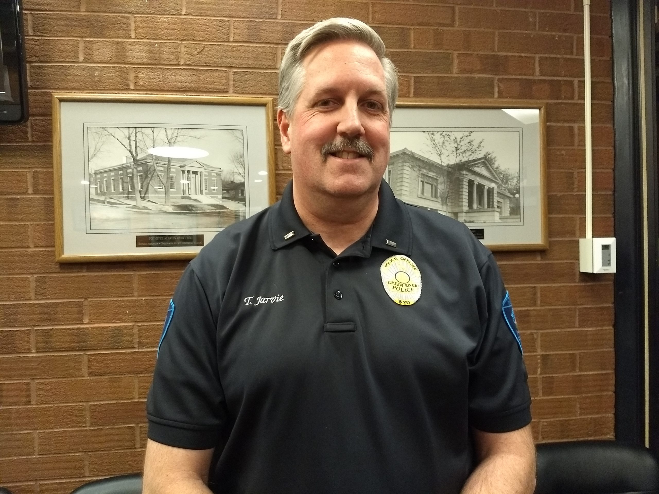 City of Green River Announces Tom Jarvie as New Police Chief