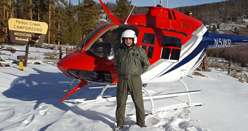 Game and Fish to Survey Wyoming Range Mule Deer by Helicopter