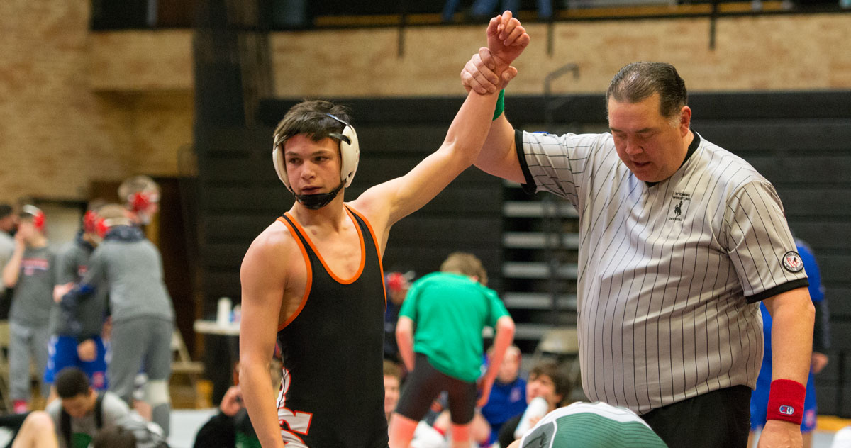 Tigers Host Conference Duals: Photos