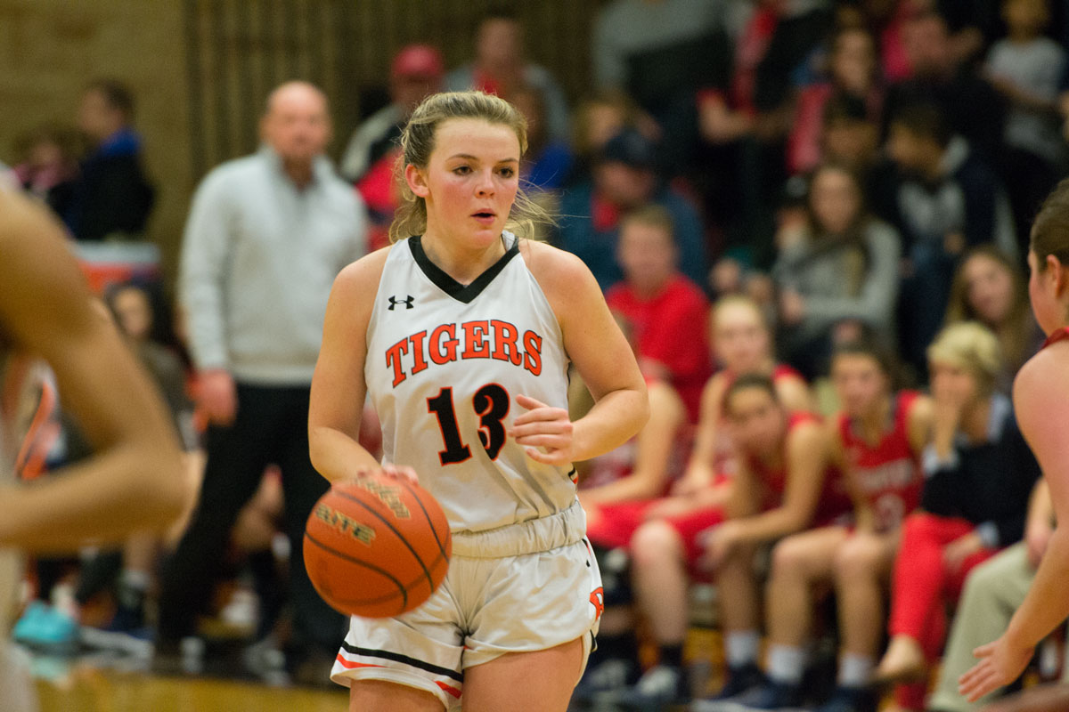 RSHS Girls Basketball Dropped by No. 3 Kelly Walsh, 37-31