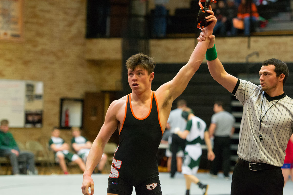 Tigers Wrestling Takes Third Place Finish at Regionals
