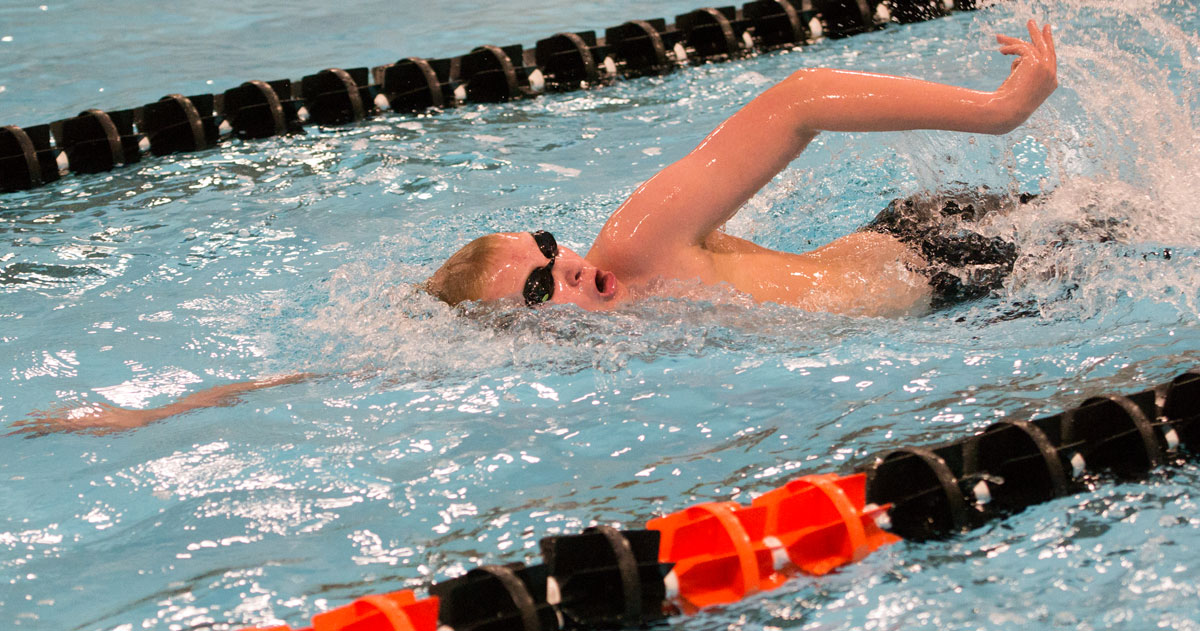 Tigers Swimming Takes Third at Conference Meet