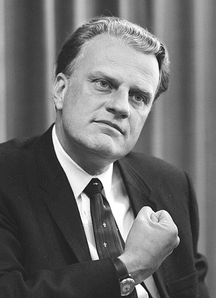 Flags To Fly At Half Staff In Honor Of Reverend Billy Graham