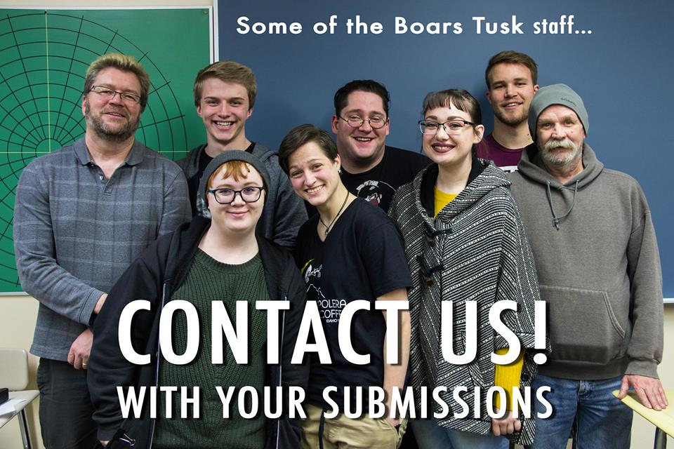Submissions Wanted For WWCC Boar's Tusk Magazine