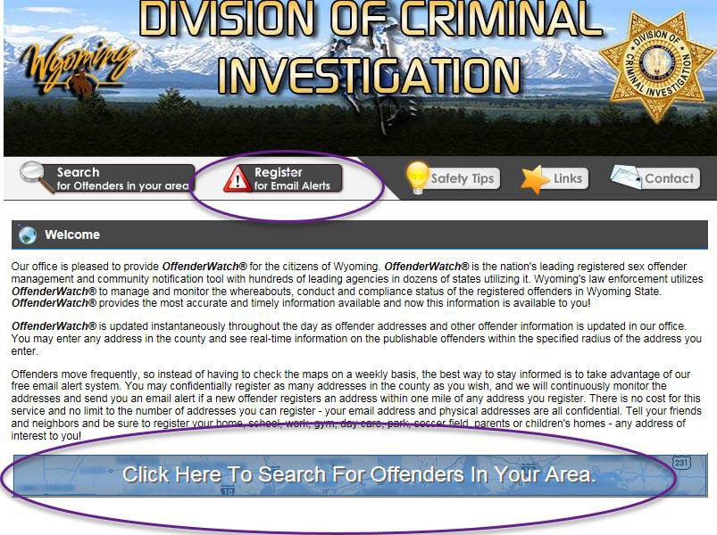 County, Federal Officers Conduct Registered Sex Offender Compliance Sweep