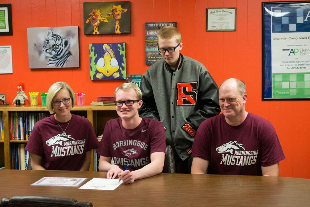 RSHS Swimmer Signs Letter of Intent with Morningside College