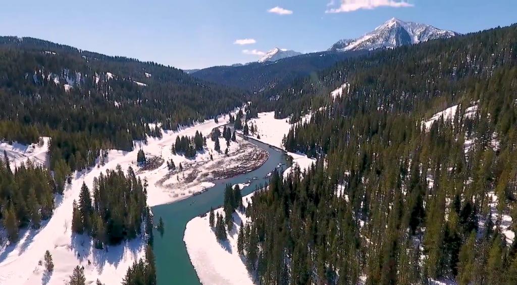 Incredible Aerial Footage of Porcupine Creek Landslide [VIDEO]