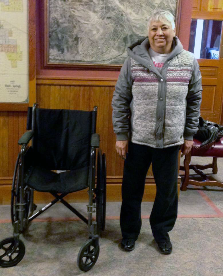RS Women's Club Donates Wheelchair To RS Historical Museum