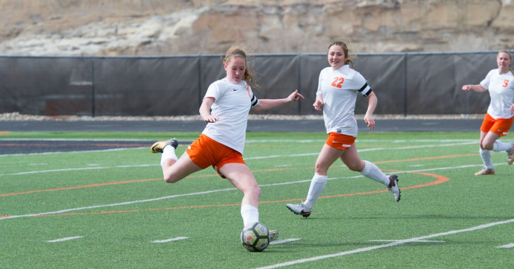 Lady Tigers Soccer Wins Over Evanston, 4-0 [PHOTOS]