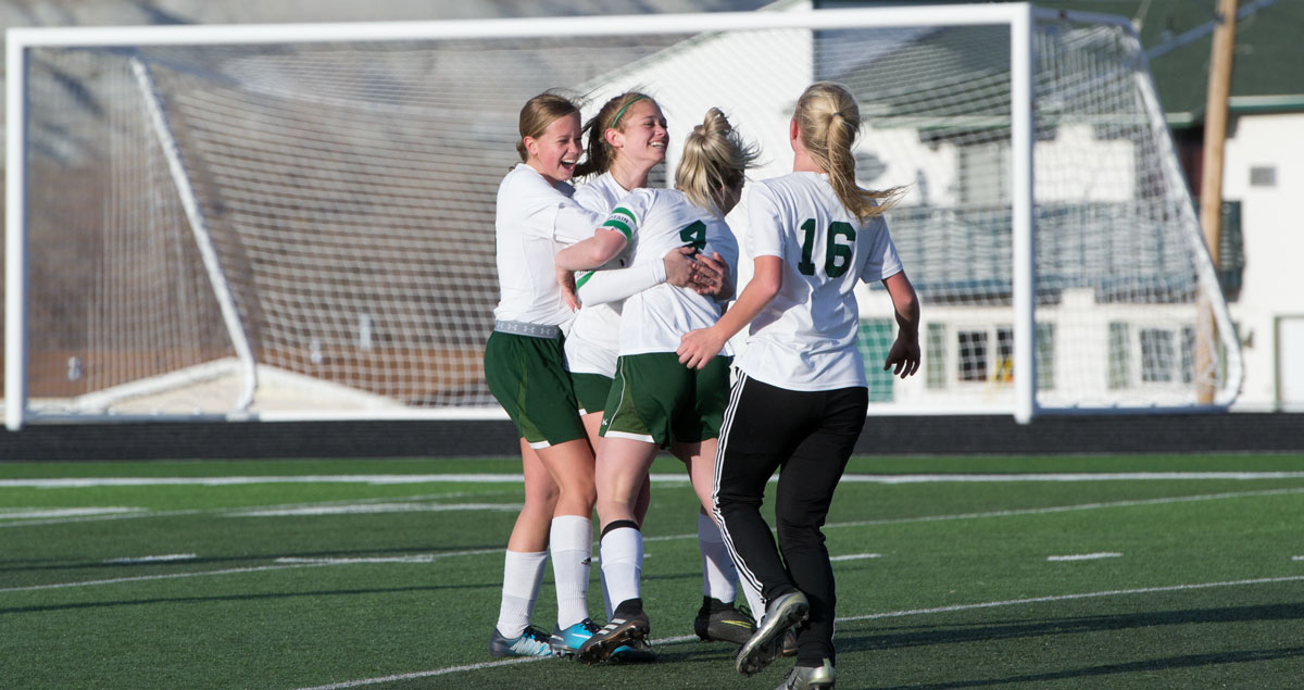 Late Game Scoring Surge Pushes Lady Wolves Over Evanston, 3-2 [PHOTOS]