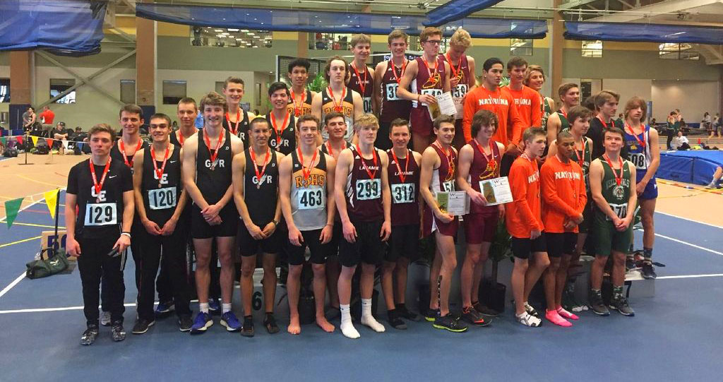 RSHS Boys and Girls Indoor Track and Field Take Fifth and Sixth at State