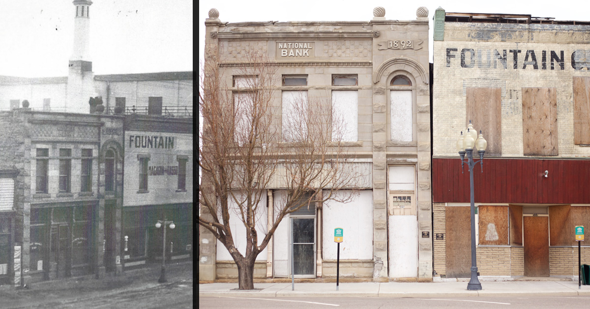 1892 Bank Building Goes Back to Pioneer Days