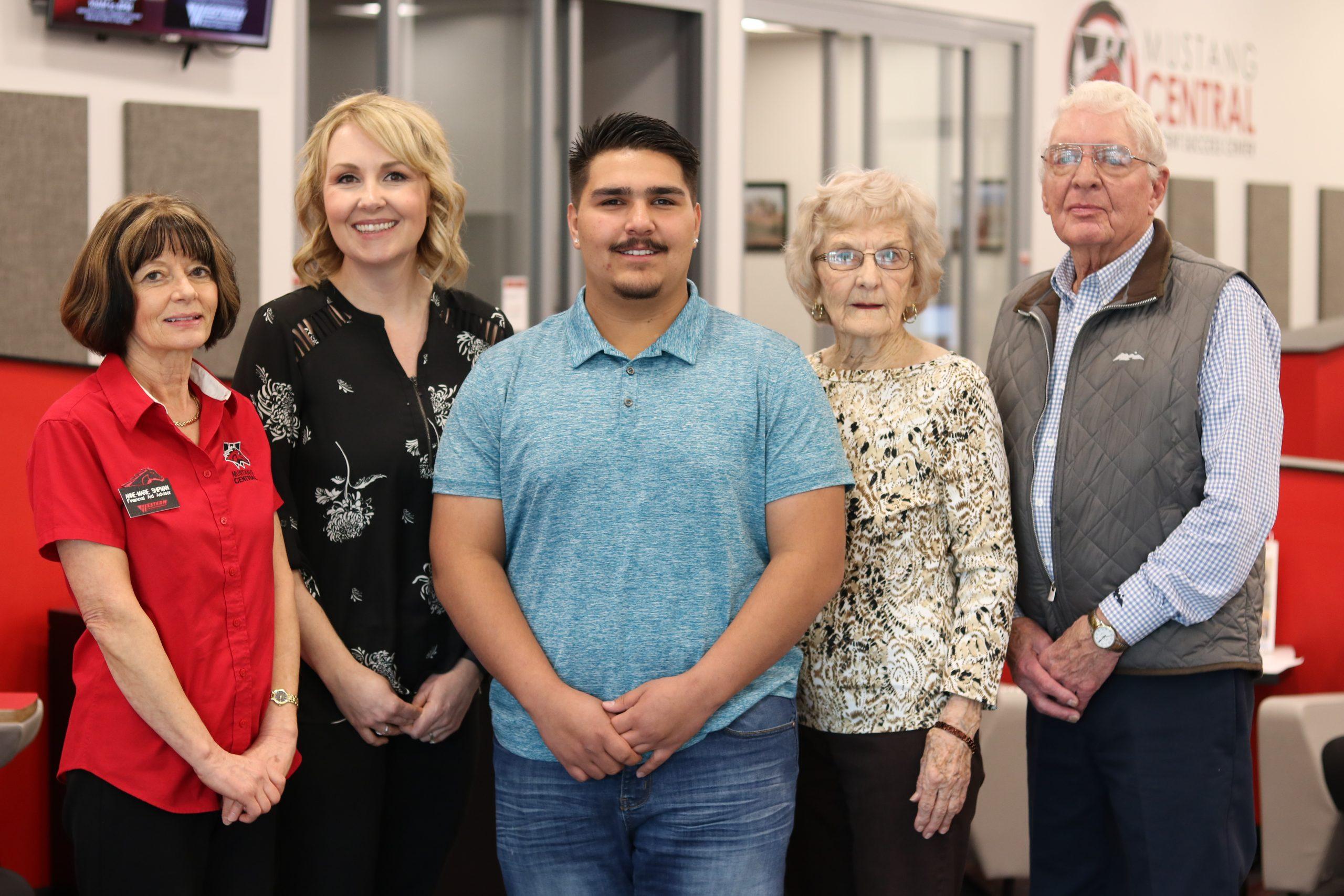 Herrera Receives 2018-2019 Bigler Memorial Scholarship